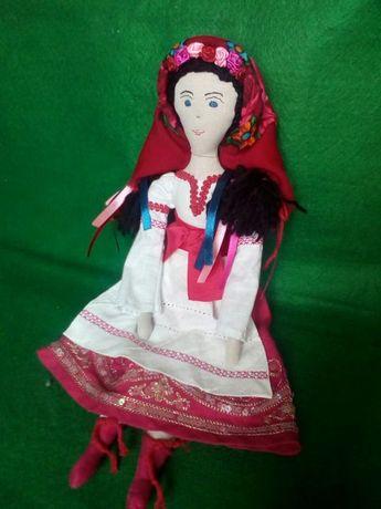Кукла Украинка,лялька Українка, сувенир, подарок, рост 40 см, лён