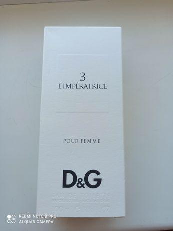 Продам новые духи D&G l'imperatrice original!