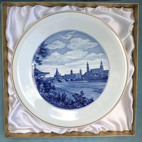Настенная тарелка Meissen