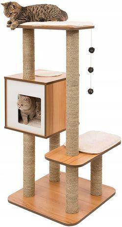 drapak wieża drzewno dla kota VESPER KATZEN