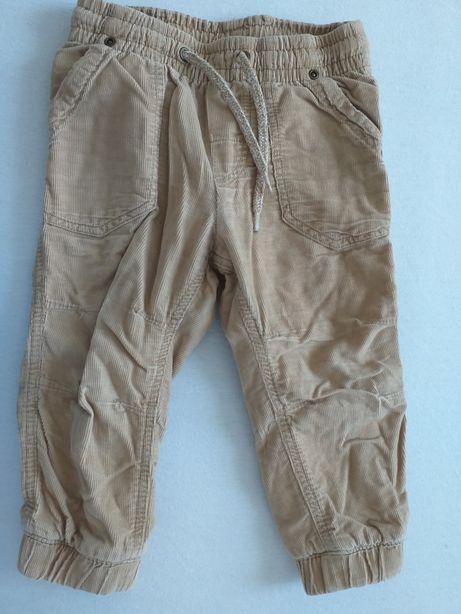 Spodnie dla chłopca h&m 80