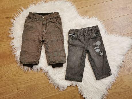 Spodnie chłopięce r 80 h&m c&a