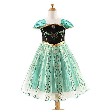 FROZEN - Fantasia Vestido Princesa Ana - NOVO c/ Etiqueta - 3 a 4 anos