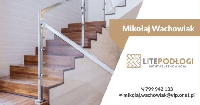 Renowacja schodów podłóg