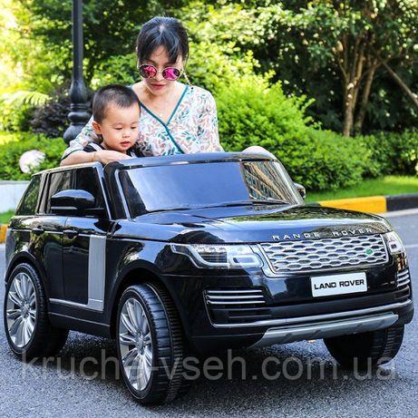 Детский электромобиль Джип M 4175, Land Rover, 2 места, лицензия, EVA