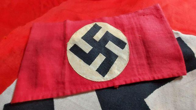 braçadeira NSDAP armband ORIGINAL Alemanha nazi-suástica