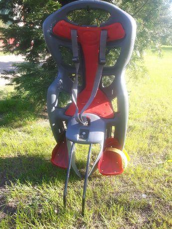 Krzesełko fotelik rowerowy uszkodzony oddam za darmo