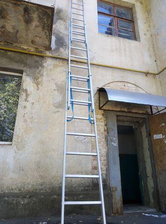 Лестница трехколенка