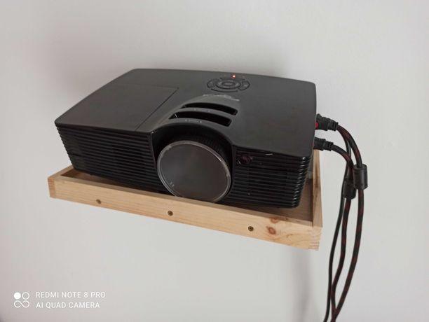 Projektor Full HD 3D Optoma 141X DLP + ekran projekcyjny 120cali