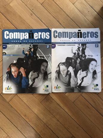 Companeros 2 a2 ćwiczenia espanol SGEL