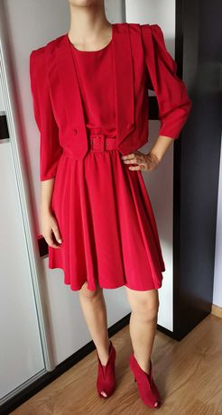 Sukienka plus buty