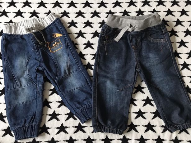 Spodnie jeansowe chłopięce rozm 80