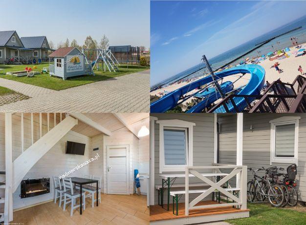 Wakacje ośrodek domków nad morzem i jeziorem bon turystyczny weekend