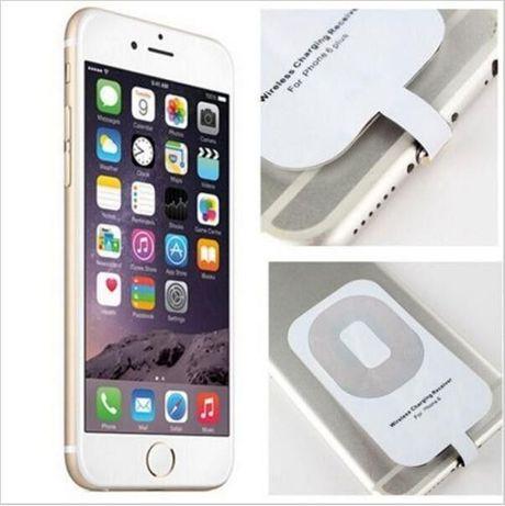 Adaptador Receptor para iPhone 5 5c 5S 6 + Carregador sem fios