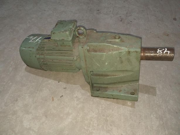 Мотор редуктор 0,75 квт, 20 об/мин, VEB, ГДР, германский, Нимецкий