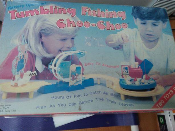 Brinquedo de pesca NOVO Thumbling Fishing Choo Choo
