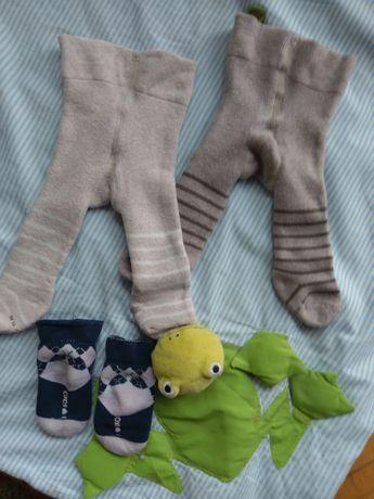 Ciepłe rajstopki niemowlęce