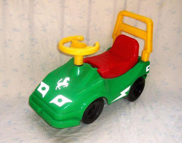 Машинка с предохранителем «Технок» -- для катания / Каталка