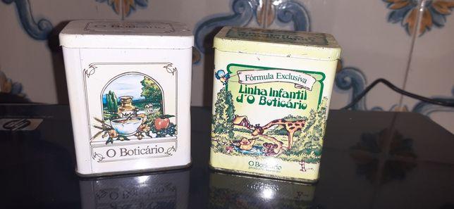 Boticário vintage, linha de banho miniatura