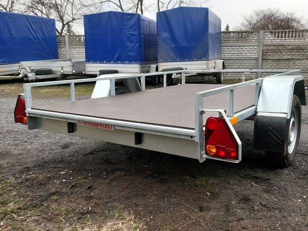 Przyczepka samochodowa 1 - oś Knott 250 x 150 reling MALIKÓW Kielce