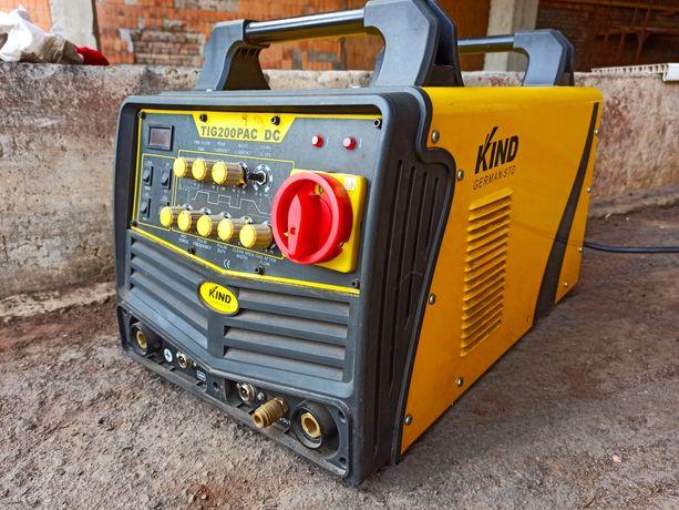 Сварочный аппарат для аргонодуговой сварки KIND TIG-200P AC/DC