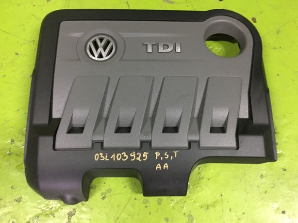 Vw Passat B7  Touran 2.0 TDI pokrywa oslona na silnik silnika