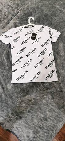 Balenciaga Balenciaga Paris koszulka męska