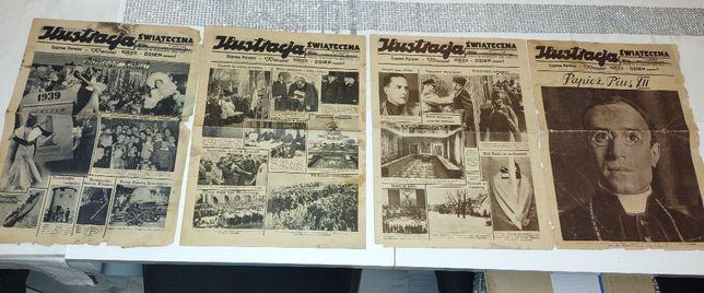 Sprzedam stare gazety przedwojenne.