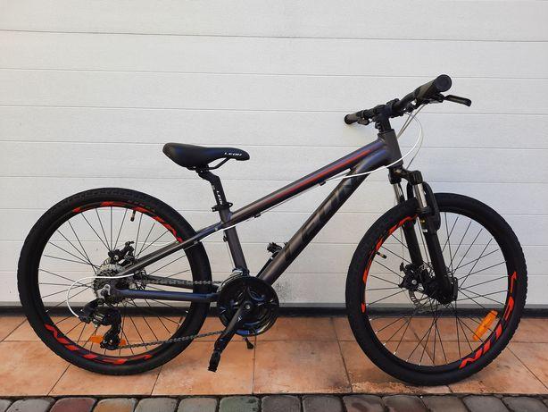 Велосипед детский подростковый  LEON junior 24