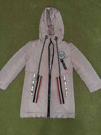Куртка зимняя 108-120см.
