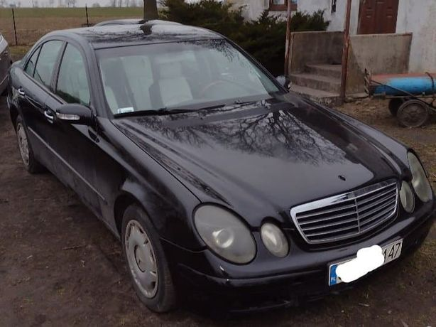 Mercedes W211 E270 Zarejestrowany