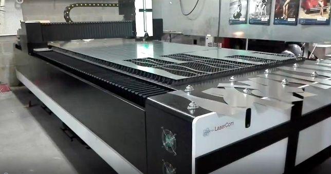 Máquina Laser Fibra 1.500W para Corte Metais (Aços SS, CS e Galva)