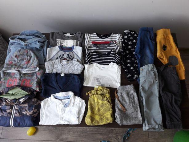 Paka ubrań dla chłopca jesień/wiosna rozmiar 74