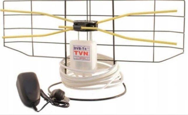 Najlepsza ANTENA pokojowa DVBT Davbol W1E 35dB UHF VHF DVB-T DVB-T2