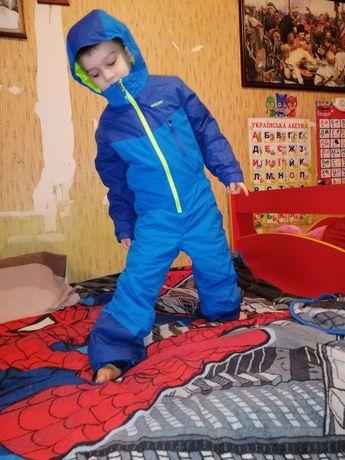 Горнолыжный комбинезон для мальчика 116 рост