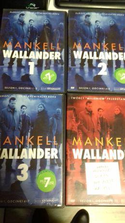 Mankell Wallander sezon 1 odcinki 1-13 Dvd PL