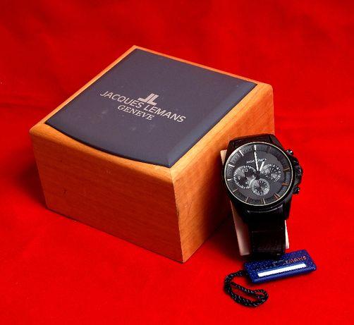 Продам часы Jacques Lemans 1-1652F с хронографом. Оригинал.