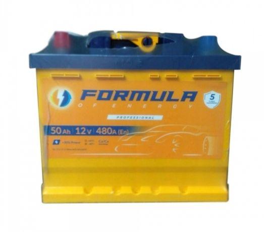 Аккумулятор Formula 50Ah 480A