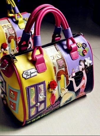 Новая красивая, стильная, кожаная женская сумка