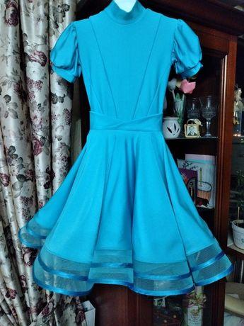 Рейтинговое платье для бальных танцев, 110-126