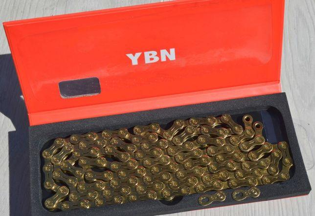 Цепи 10 ск YBN GH10-TIG Gold