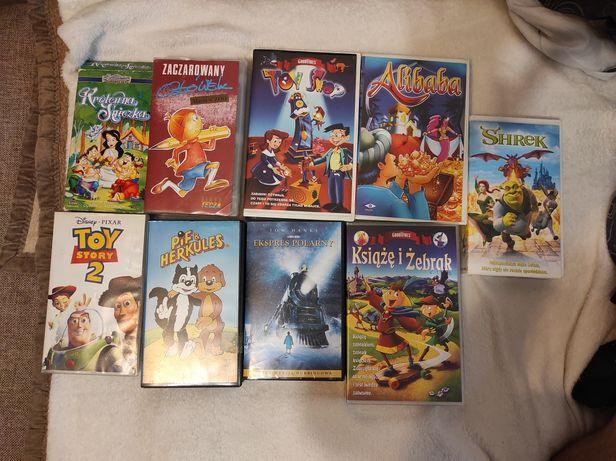 Kasety VHS świetny stan