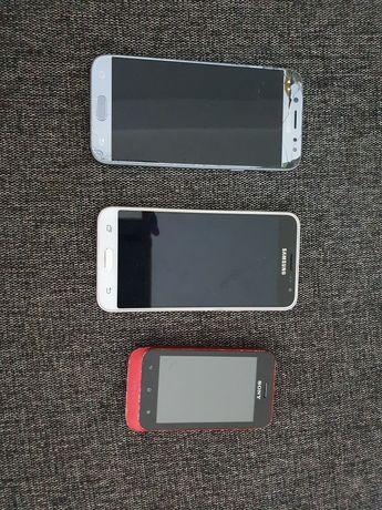 Telefony komórkowe uszkodzone