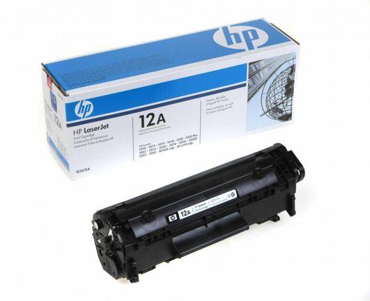 Картридж HP 12A (Q2612A) для принтера LJ 1010