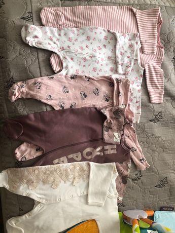 Детские вещи для девочки 3-6 месяца