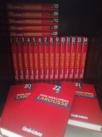 Nova Enciclopédia LAROUSSE - circulo de leitores completa
