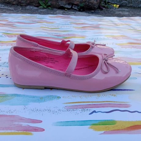 Туфли девочке Н&М 18,5см