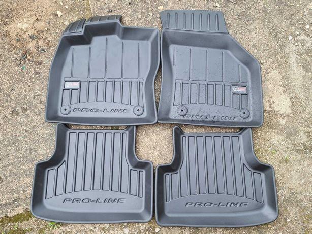 Dywaniki gumowe 3D Vw Golf VII, Seat Leon, VW T-Roc