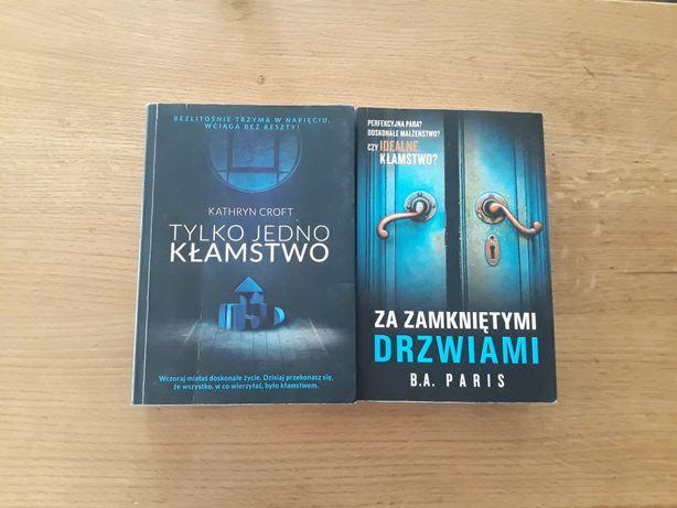 2 książki , thrillery , bardzo wciągające , polecam