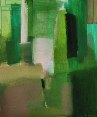 Obraz olejny 50x60, olej na płótnie 2019 Abstrakcja Rękodzieło IV